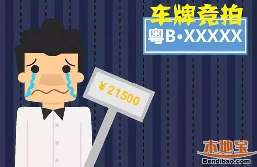 23期车牌竞价拍卖29日开始 300号码牌曝光高清图片