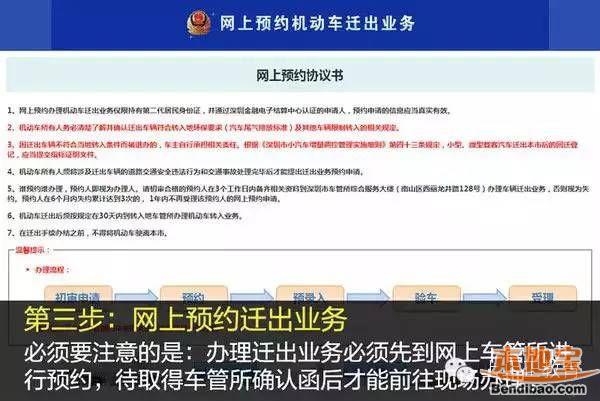 深圳车辆迁出办理指南(条件+流程+攻略)