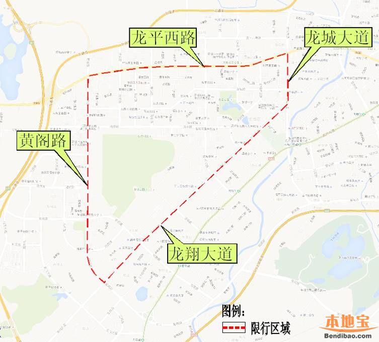 深圳外地车限行细则2016 时间 路段 地图