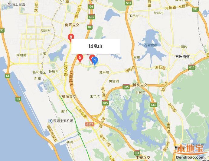 深圳凤凰山在哪里