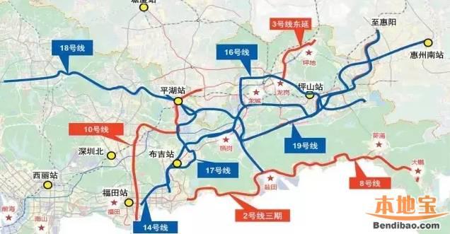 深圳地铁8号线二期 最新消息 站点 线路图图片