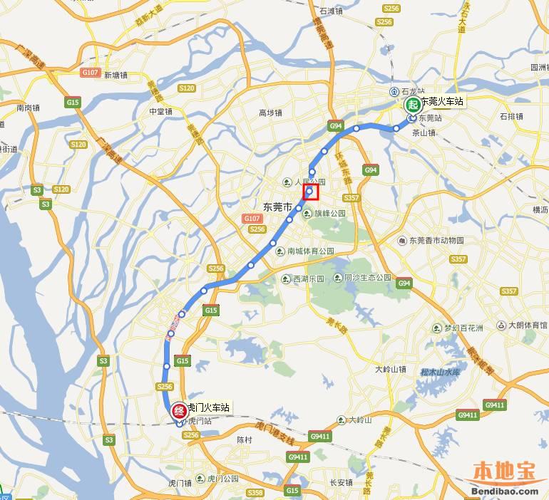 东莞地铁2号线东城站在哪里 地址 线路图图片