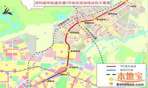 深圳地铁在建线路图(11条地铁线在建)