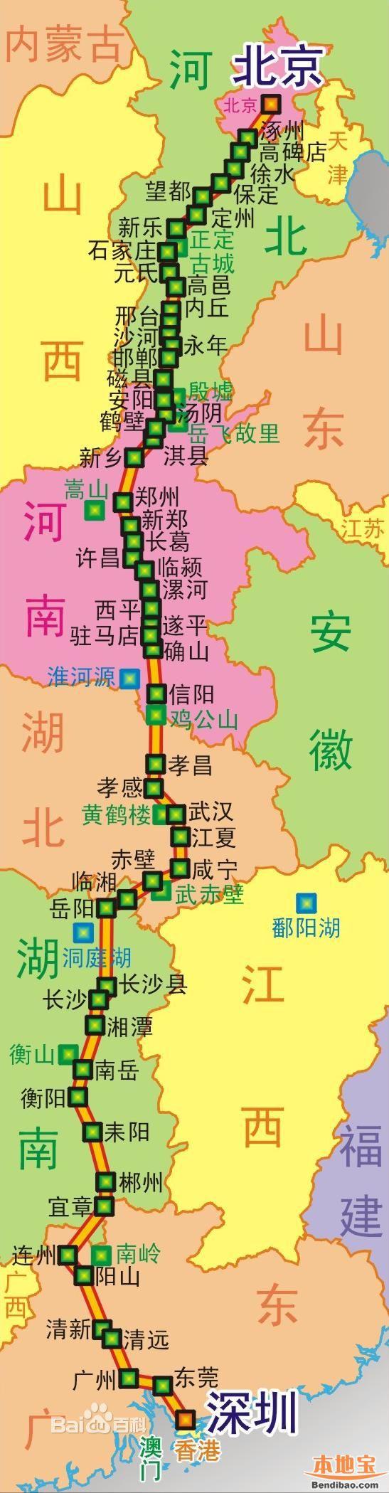 107国道全程线路图 最新