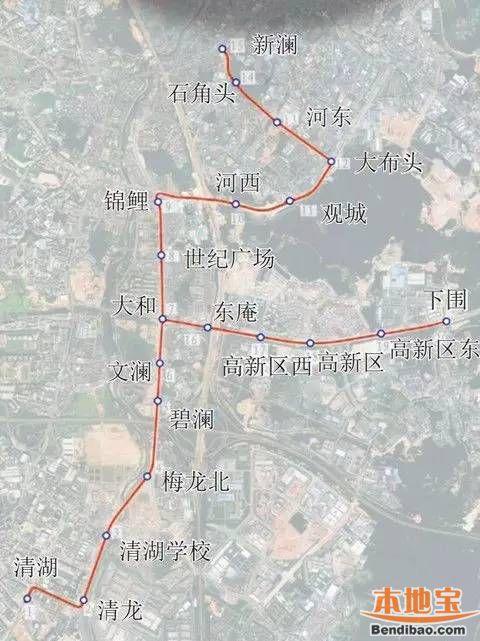 龙华有轨电车站点一览 附各站台效果图