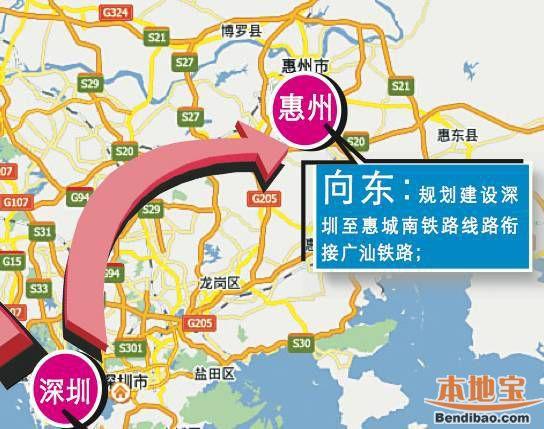 深圳将打造国家级铁路枢纽 始发更多列车车次