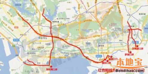 外地车前往深圳各口岸线路指引 这样走才不被罚
