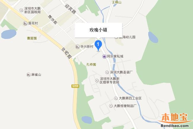 深圳玫瑰小镇怎么去(位置+公交地铁+自驾)