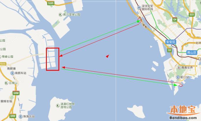 """中山正谋划""""水上深中通道"""" 预计明年开通海上航线"""