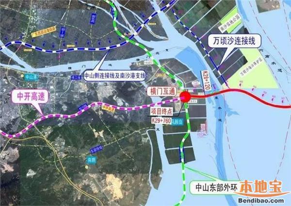 中山加快路网建设对接深中通道 8条高速21条快速路