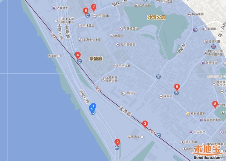 深圳西湾红树林公园怎么去(位置+地铁公交+自驾)