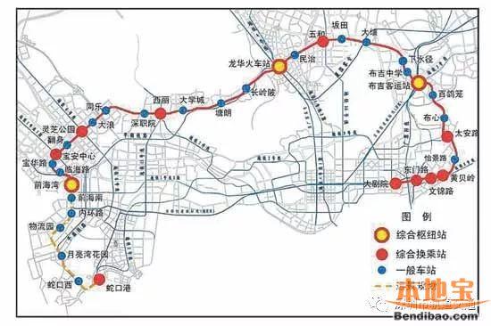 深圳在建地铁工程最新进展盘点(截至2017.11.20)