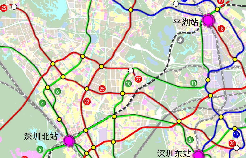 深圳地铁25号线线路图