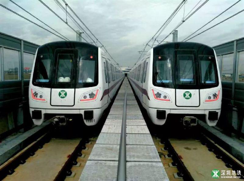 深圳地铁11号线再次压缩行车间隔 最快4分10秒一趟车