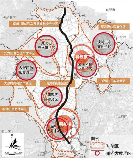 """龙华区拟新增""""龙华大道"""" 全长20.3公里、四段路组成"""