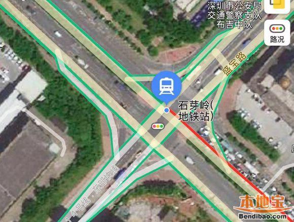 深圳地铁14号线石芽岭站围护结构即将开工