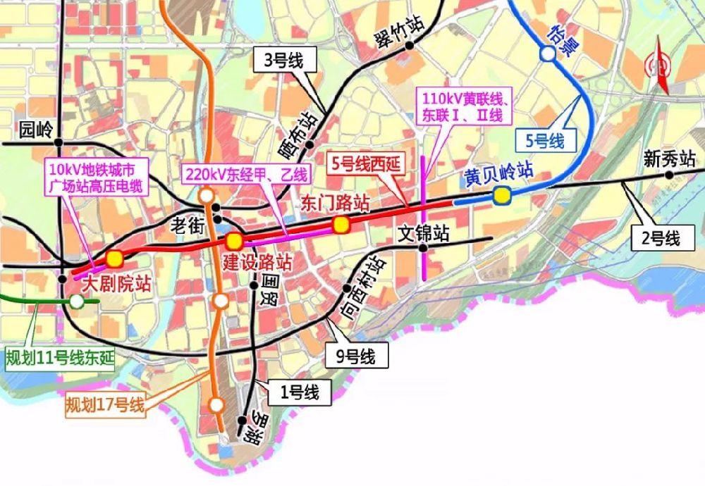 深圳地铁新增2条线路开建!在建地铁达19条!