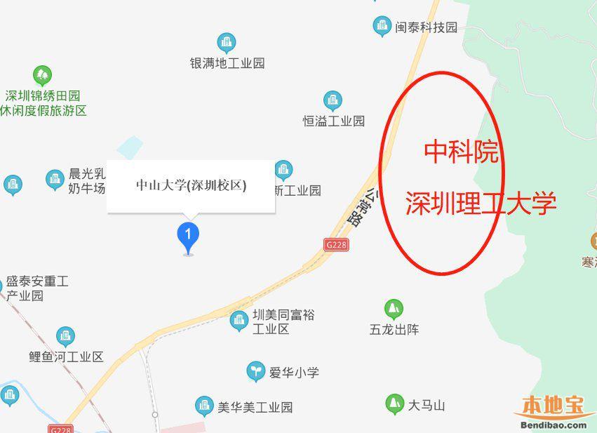 中国科学院深圳理工大学在哪里