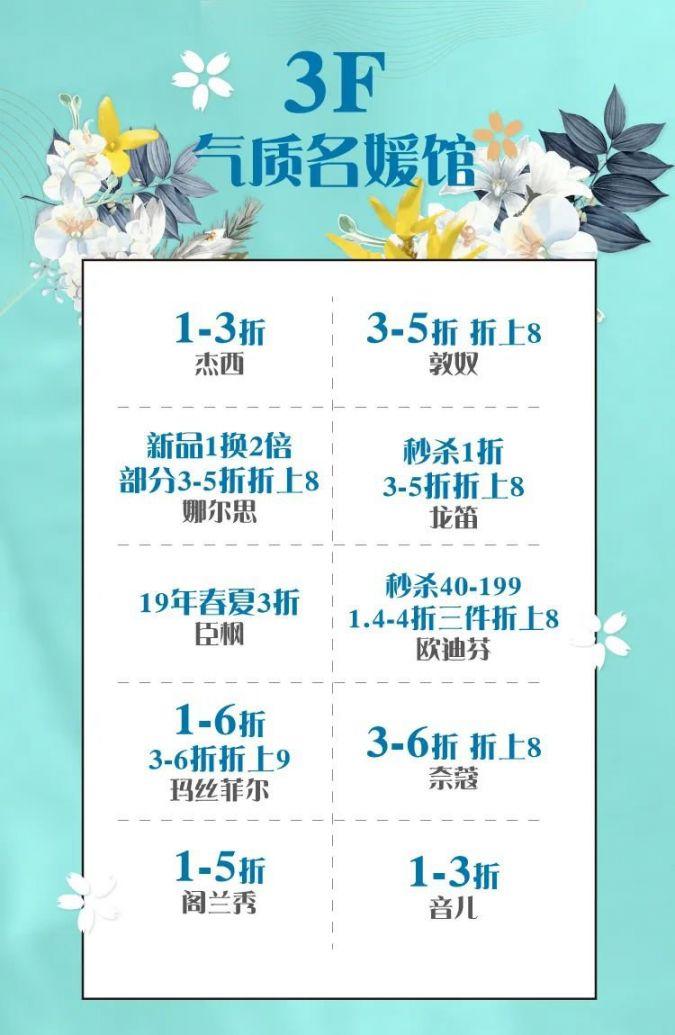 2020茂业百货奥莱店店庆攻略(折扣 最新营业时间)