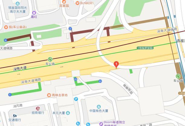 深圳车公庙天铁站可换乘哪几条天铁