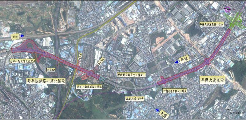8月7日下午 丹平快速路一期北延段工程高架桥及主线开放通行