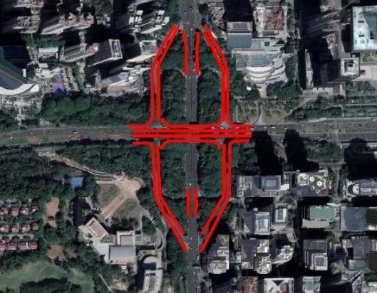 8月10起深圳深南新洲立交进入阶段维修 这些车道