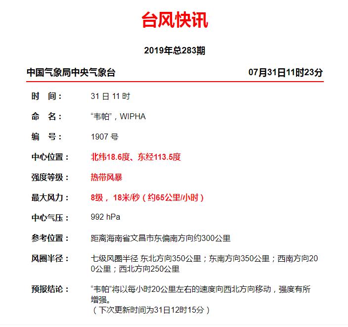 深圳市台风最新动态