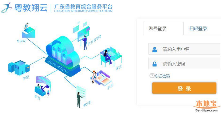 广东省教育管理公共服务平台入口