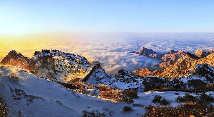 【泰山风景区】中国五岳之首,古名岱山,又称岱宗