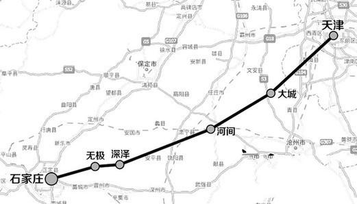 津石高速规划图