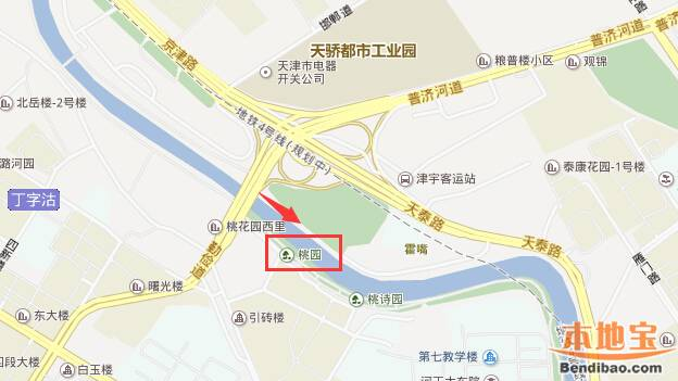 天津市桃花堤在哪_天津桃花堤在哪里 附交通指南- 天津本地宝