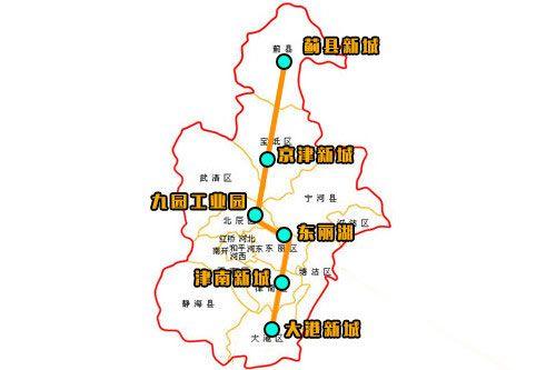 天津地铁Z3线线路图
