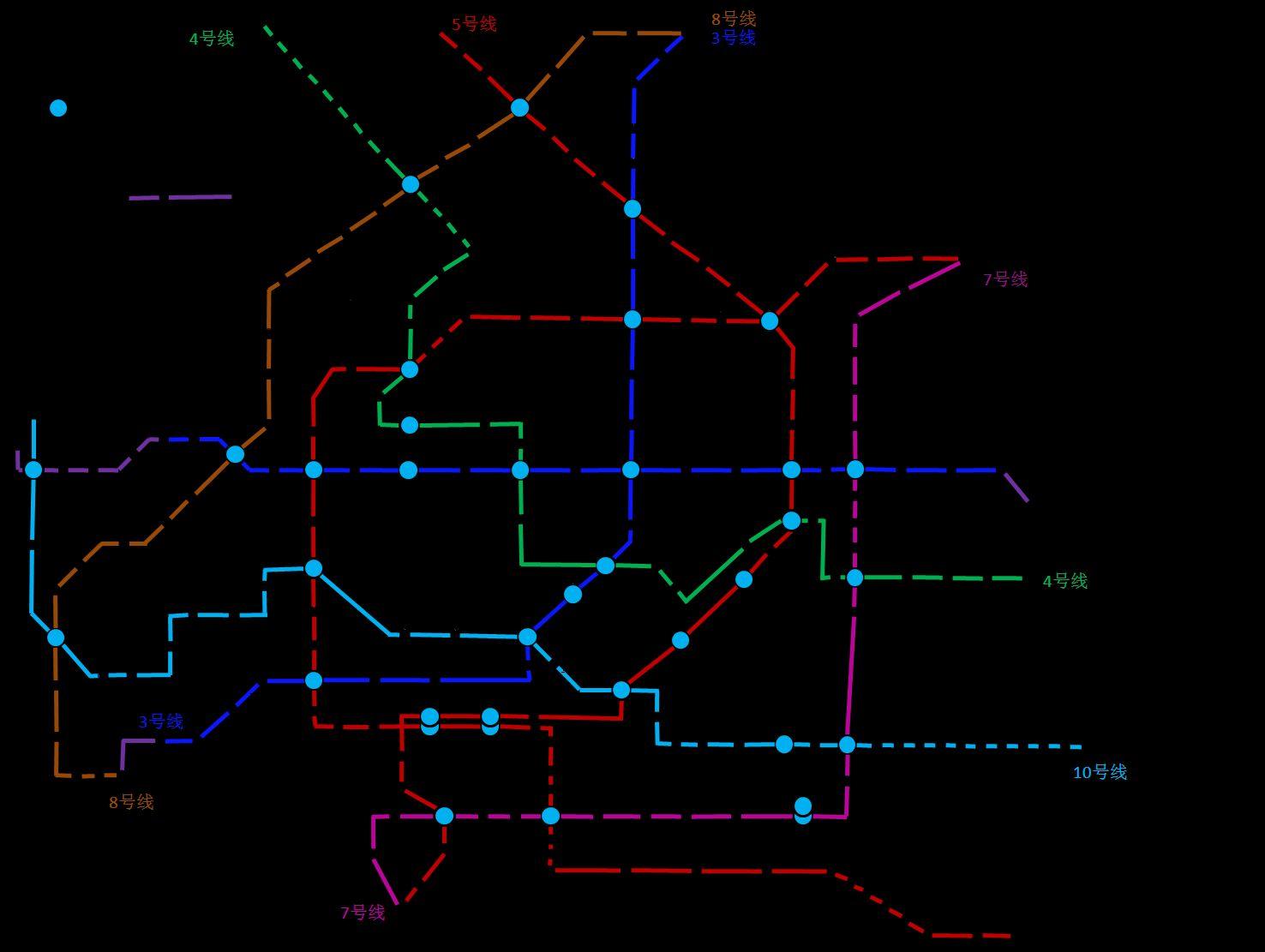 天津地铁1号线东延线