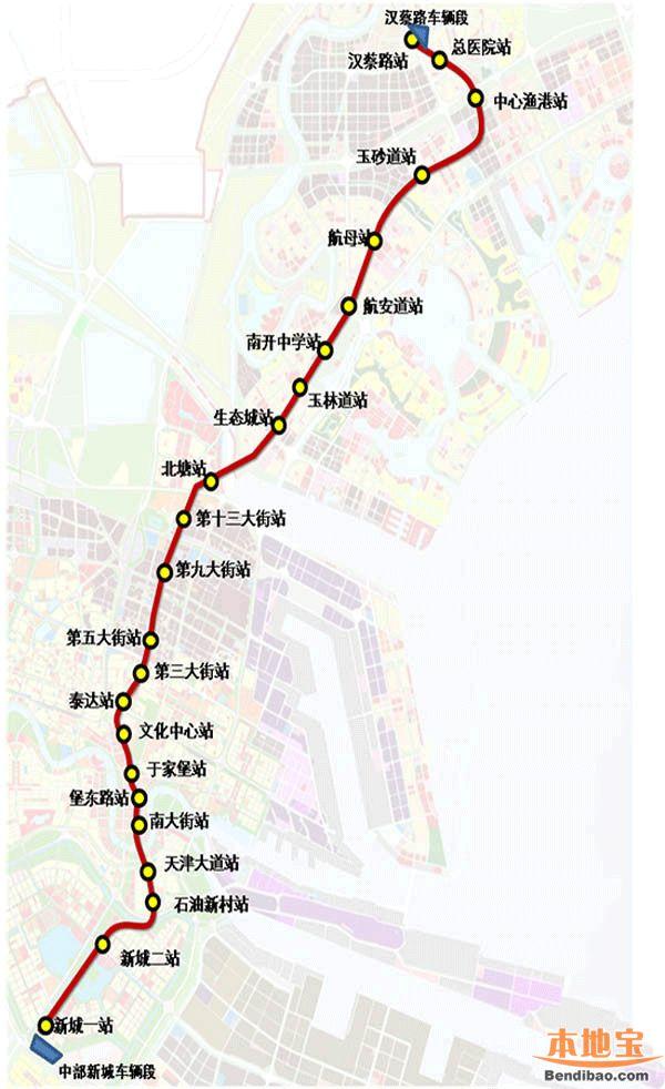 规划局信息_天津地铁Z4线最新消息(线路图+站点+通车时间)- 天津本地宝