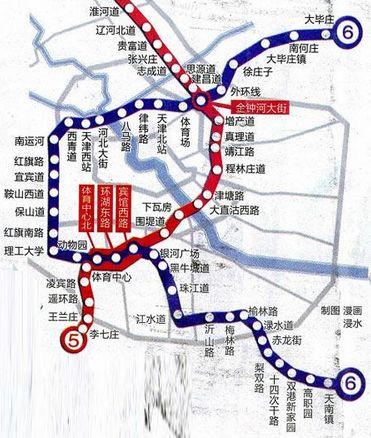 天津周边一日游_天津地铁6号线周边居住区和旅游景点