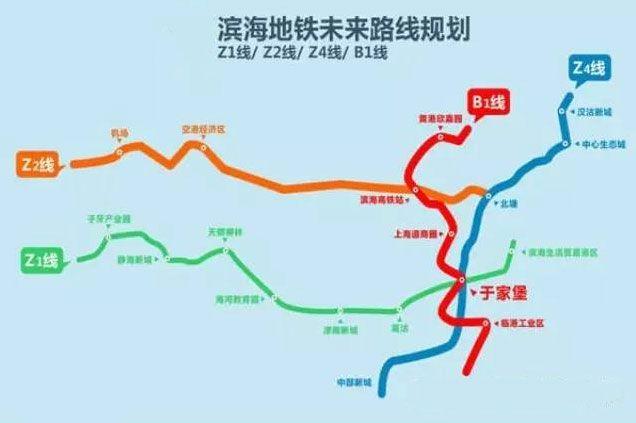 天津地铁z1线线路图图片