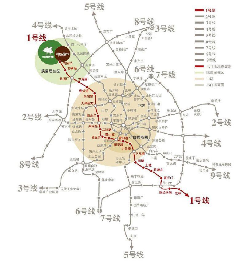 天津地铁4号线最新消息(线路图+站点+工程进度)