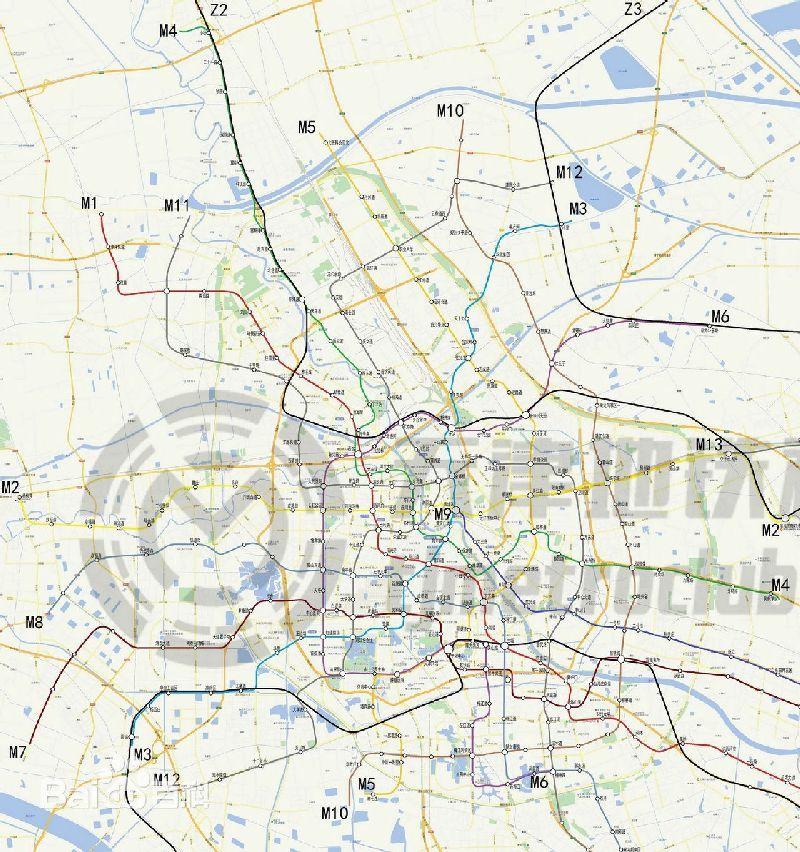 天津地铁8号线线路图