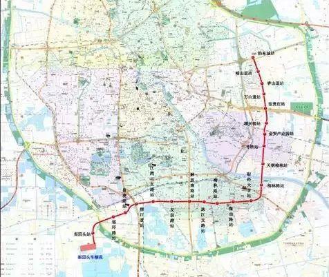 天津地铁10号线最新线路图图片