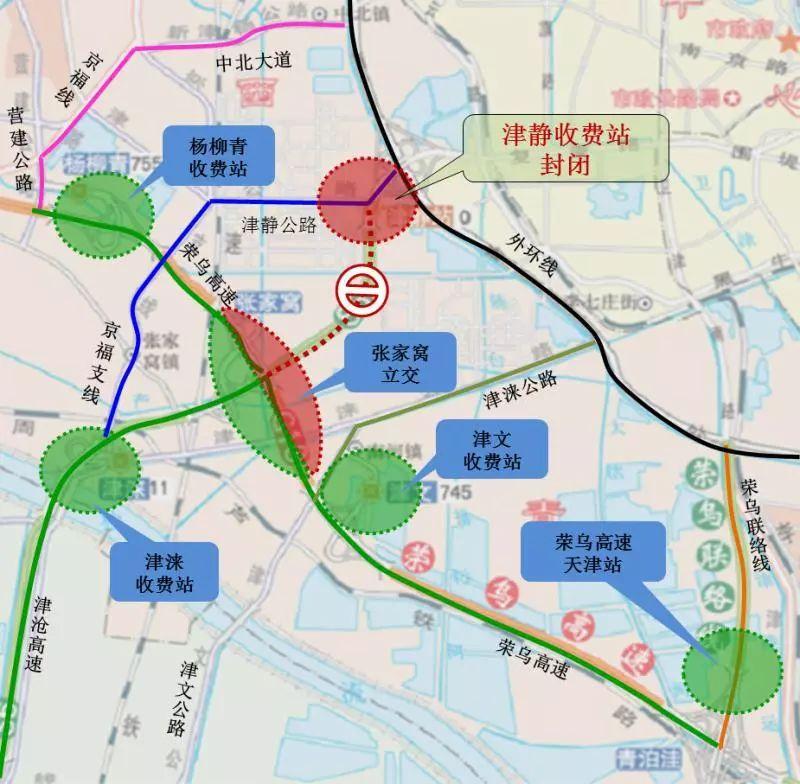 津港公路道路施工,中重型货车分时段限行 绕行