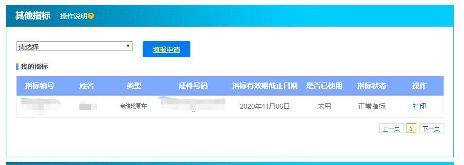 天津新能源汽车指标网上申报流程