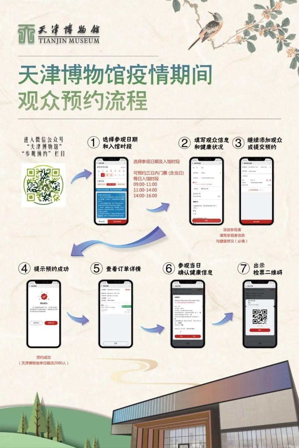 2020天津博物馆预约入口 预约流程