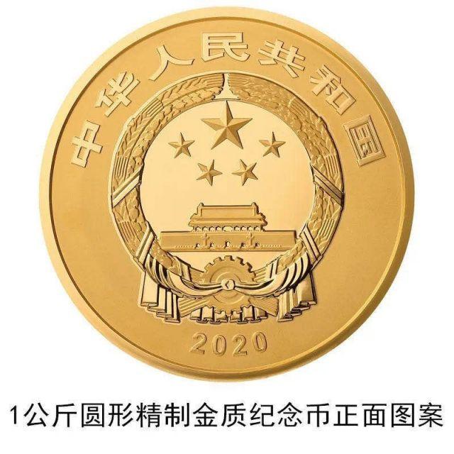 紫禁城建成600周年纪念币图案(圆形)