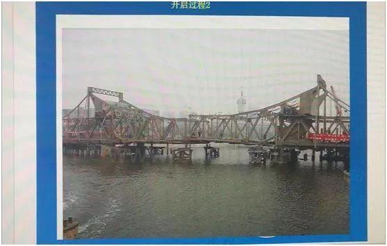 天津解放桥为什么可以打开