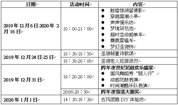 2019年天津商场圣诞活动汇总(持续更新)