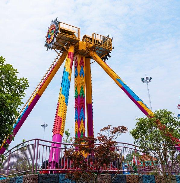 欢乐谷春节活动