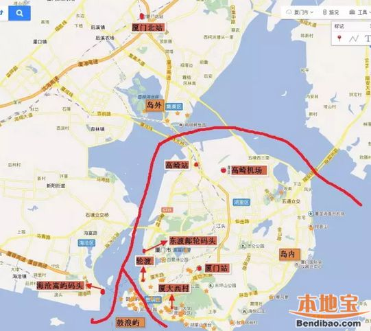 2016厦门穷游攻略四天三夜(超级详细)