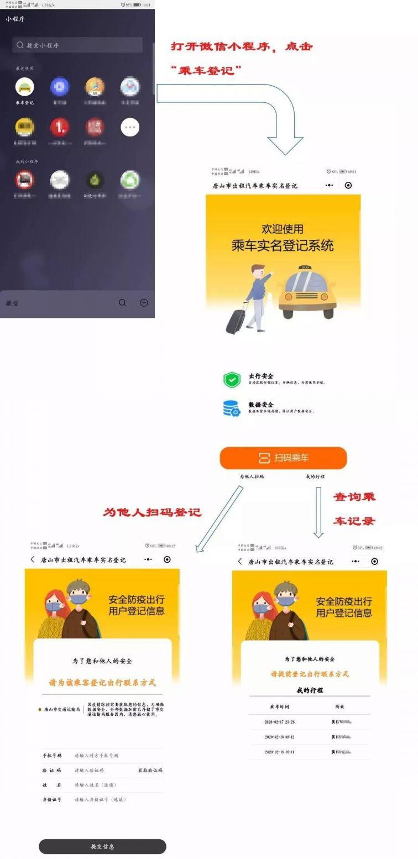 唐山乘坐出租车实名登记指南(附操作方法)