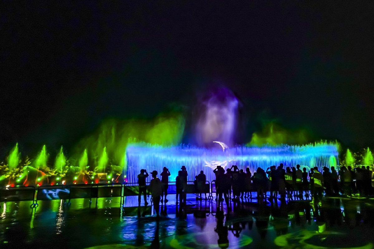 2021年唐山南湖音樂噴泉開放時間+地點