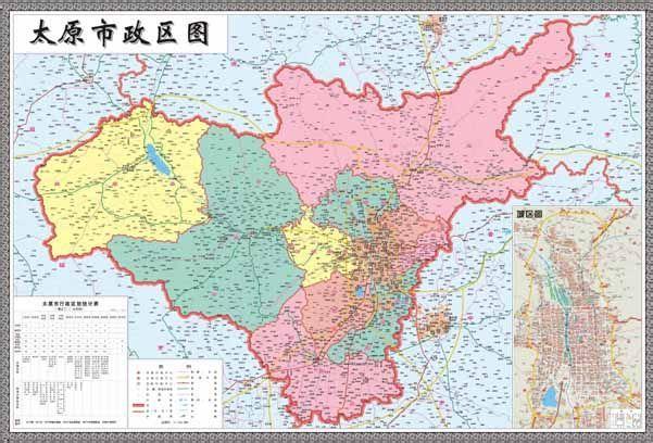 太原市地图全图大图_太原市地图全图高清版- 太原本地宝